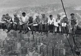 Pyramid America PPL70042F Lunch On a Skyscraper Poster