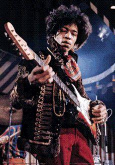 Pyramid America PPL70052F Jimi Hendrix Poster