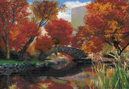 Pyramid America PPLA70130F Central Park 3D Seasons Poster