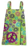 Product Image. Title: Graffiti Peace Spa Wrap Small