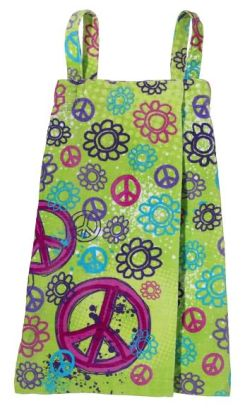Graffiti Peace Spa Wrap Large
