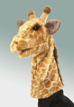 Giraffe Stage Puppet 14 inches