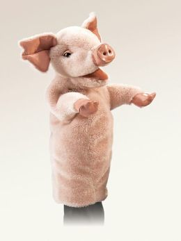 Pig Stage Puppet 15 inches