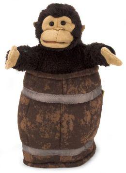 Monkey in Barrel puppet