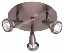 Access Lighting 52221-BRZ Mirage 3 Light Swivel Spot - Bronze
