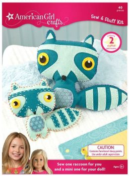 American Girl Crafts Raccoon Sew and Stuff Kit