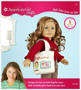 American Girl Crafts - Doll Tote Iron-on Kit