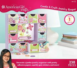 American Girl Crafts Create and Craft Jewelry Keeper