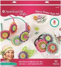American Girl Crafts Fabric Flower Style Set, Kit Kittredge