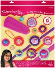 Product Image. Title: American Girl Crafts Pretty Button Hair Accessories