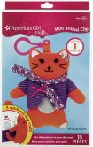 Product Image. Title: American Girl Crafts Mini Animal Clip: Cat