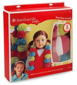 American Girl Pom Pom Scarves Kit