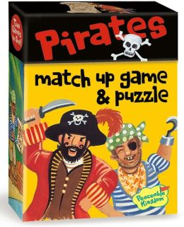 Pirates Match Up Game + Puzzle