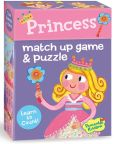 Product Image. Title: Princess Match Up Game + Puzzle
