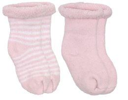 Kushies Terry Newborn Socks - Blue