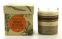 Orange Blossom Botanical Glass Candle