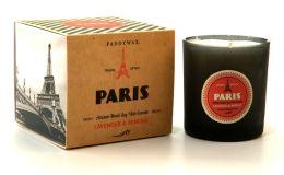 Paris Wanderlust Glass Candle