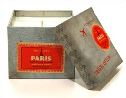 Paris Wanderlust Square Tin Candle
