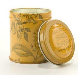 Orange Blossom Botanical Tin Candle