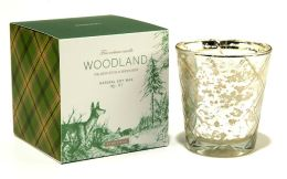 Forest Winter Woodland Glass Candle 6oz