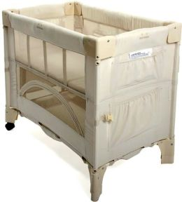 Arms Reach Concepts Mini Co-Sleeper Infant Bedside Bassinet, Natural