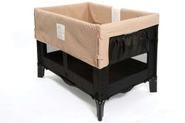 Arms Reach Concepts Original Co-Sleeper, Black withToffee Liner