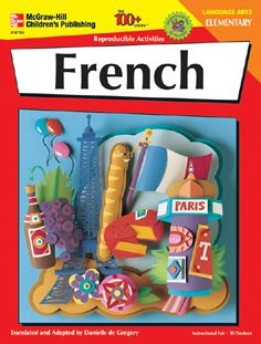FRANK SCHAFFER PUBLICATIONS IF-8792 FRENCH ELEMENTARY 100+