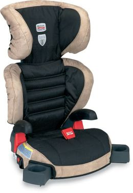 Britax Parkway SGL Booster Car Seat with Latch Nutmeg