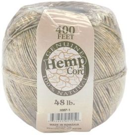 Hemp Cord #48 400 Feet/Pkg-Natural