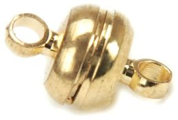 Magnetic Clasps 7x11mm 6/Pkg-Gold