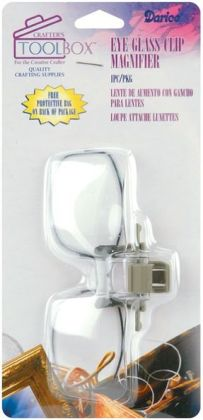 Eye Glass Clip Magnifier-2X Magnification