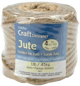 Craft Designer Jute 4 Ply 1lb 135 Feet-Natural