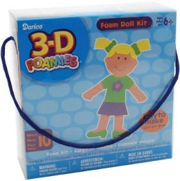 3-D Foam Kit-Makes 10-Doll