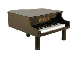 Schoenhut 18 Key Black Mini Grand Piano