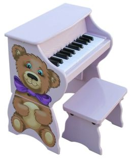 Schoenhut Teddy Bear Piano Pal W/Bench