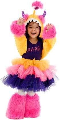 Aarg Monster Child Costume: Small/Medium