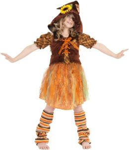 Serena the Scarecrow Child Costume: Size 6