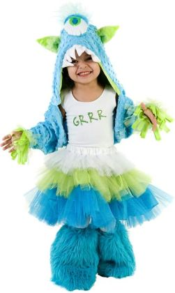 Grrr Monster Child Costume: Large/X-Large