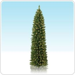 7.5 foot Unlit No. 2 Pencil Tree