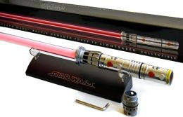 Star Wars Force F/X Darth Maul Lightsaber