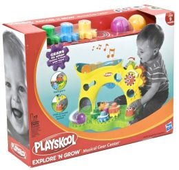 Playskool Musical Activity Ball and Gear Center