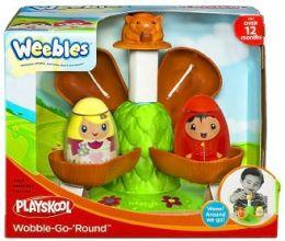 Weebles Merry-Go-Round Playset