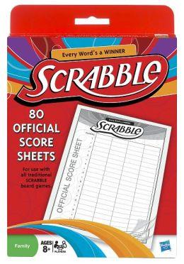 Scrabble Score Pads