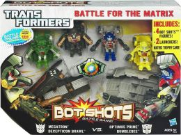 Transformers Ultimate Bot Shots Battle Set