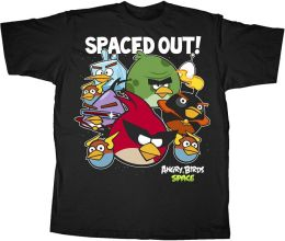 Angry Birds Spaced Tshirt Small