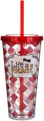 Life is a Picnic Acrylic Tumbler 22 oz.