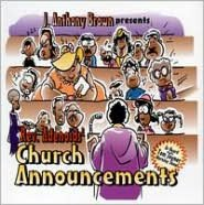 J. Anthony Brown Presents Rev. Adenoids' Church Announcements