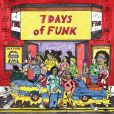 CD Cover Image. Title: 7 Days of Funk, Artist: Dam-Funk