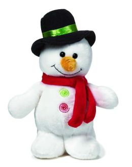 Standing Snowman 6.5 Inch Plush