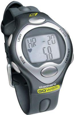 Skechers Go Walk SK1 Mens Classic Strapless Heart Rate Monitor - Black